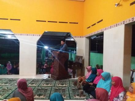 Pengajian Lapanan Jamaáh Ranting Muhammadiyah Parangtritis