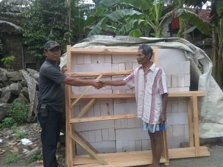 Bantuan Pembangunan RTLH Desa Parangtritis