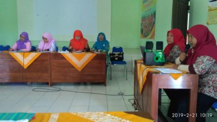 Pertemuan Rutin TP PKK Desa Parangtritis