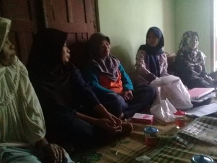 Pertemuan Anggota PKH Sono