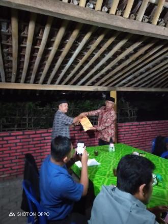 Penyerahan Dokumen dan Penyelesaian SPJ Tim Penyusun RPJM Desa Parangtritis