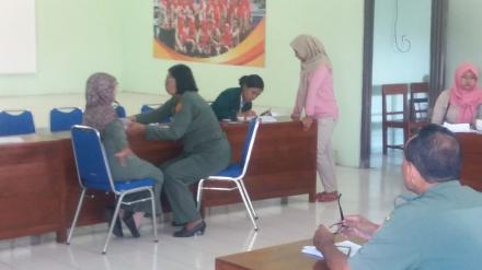 Pemeriksaan Kesahatan Calon Anggota KPPS Desa Parangtritis