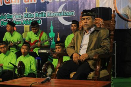Pengajian Memperingati Nuzulul Quran 1440 H Masjid Al Furqon Bungkus oleh Drs. H. Thoyib Hidayat M.S