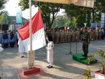 Upacara Memperingati Hari Kebangkitan Nasional di Kecamatan Kretek