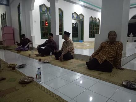 Safari Ramadhan Pemerintah Desa Parangtritis di Masjid Darussalam Parangkusumo