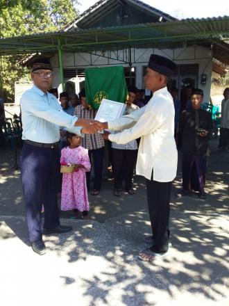 Aksi SIMPATI Akta Kematian di Pedukuhan Depok