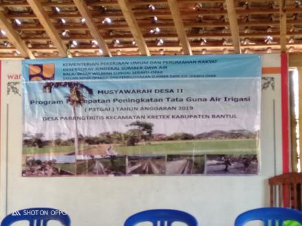 Musyawarah Desa II P3TGAI