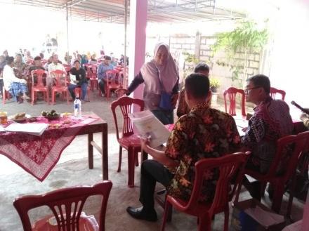 Pembagian Sertifikat PTSL di Dusun Bungkus