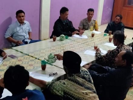 Pertemuan Gapoktan Desa Parangtritis