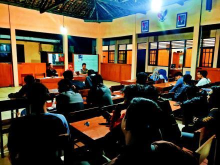 Persiapan Kegiatan Peringatan HUT RI ke 74 di Desa Parangtritis