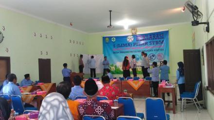 Deklarasi 5 Pilar STBM Desa Parangtritis