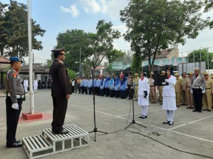 Upacara Memperingati Hari Sumpah Pemuda di Kecamatan Kretek